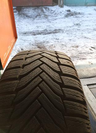 Диски R17 на зимней резине Michelin