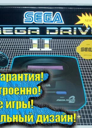 Приставка Сега Мега Драйв 2  Sega Mega Drive 2. +5 игр. Новая!