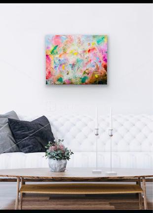 Картина абстракция живопись