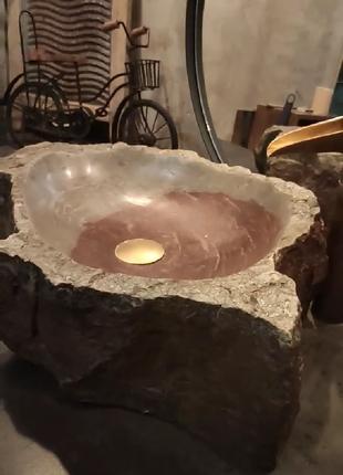 Раковина из камна умывальник мойка