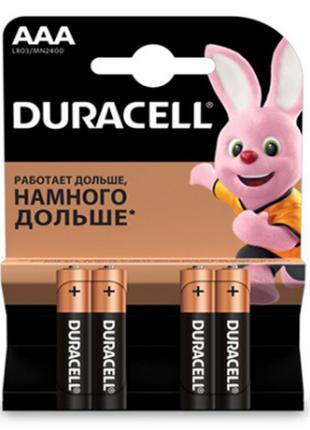 Батарейка Duracell LR06 MN1500 ААА 4 шт