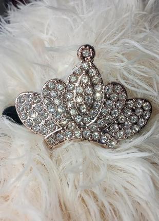 Заколка резинка на волосы корона 👑 принцессы