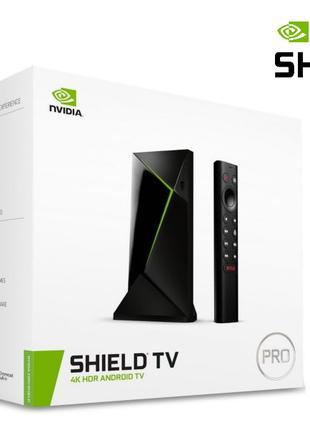Приставка NVIDIA SHIELD TV PRO 2019 AndroidTV настроенная