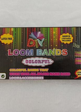 Набор Резиночек для Плетения Браслетов Rainbow Loom Bands Colo...