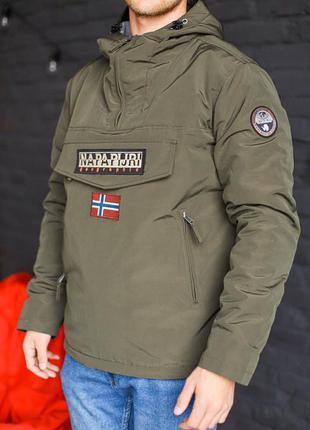 Куртка napapijri (зимний вариант) анорак