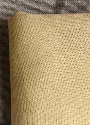 Ткань для вышивки крестиком канва, серая и под выдёргивание