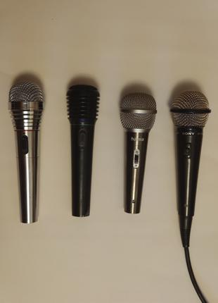 Продам 4 микрофона