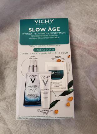 Vichy slow age набор пробников
