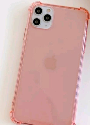 Противоударный Прозрачный чехол для телефона iPhone 11Pro M