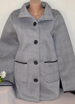 Флисовое пальто с кожаными вставками  anne de lancay oversize ...