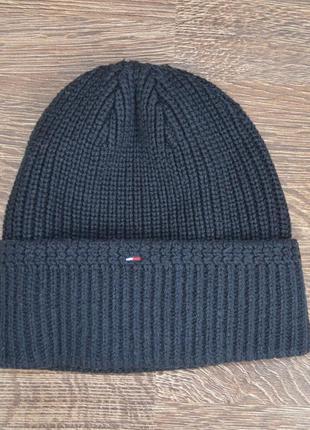 Оригинальная теплая шапка tommy hilfiger ®beani hats