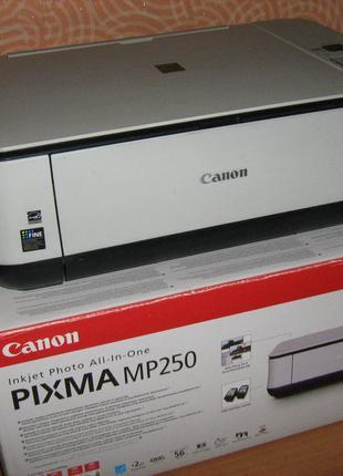 Сканер принтер МФУ Canon Pixma MP250
