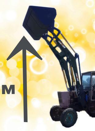 Фронтальный погрузчик на трактор МТЗ, ЮМЗ, Т-40