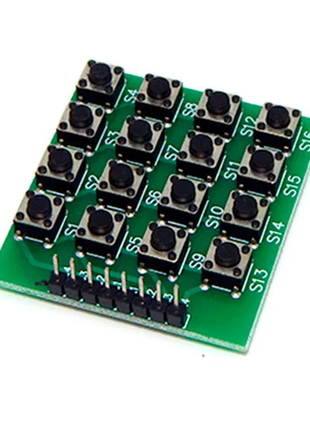 Кнопочная клавиатура Arduino матричная 4х4