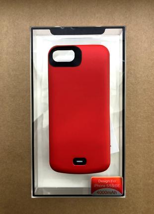 Чехол аккумулятор(Батарея) для iPhone 5/5s/SE 4000 mAh iBattery