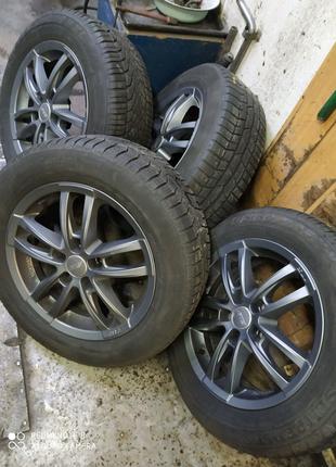 Диски литые BMW VW T5 Vivaro Trafic Insignia R16(5*120)et38