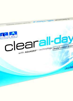 Clear All-day ежемесячные контактные линзы