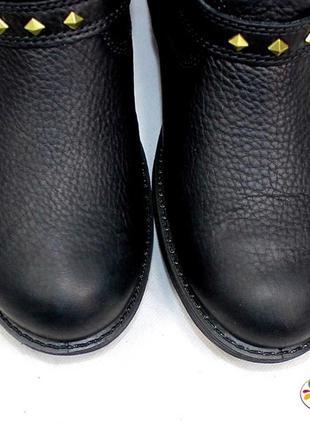 Ecco кожа мембранные ботинки 36 р 38 р оригинал