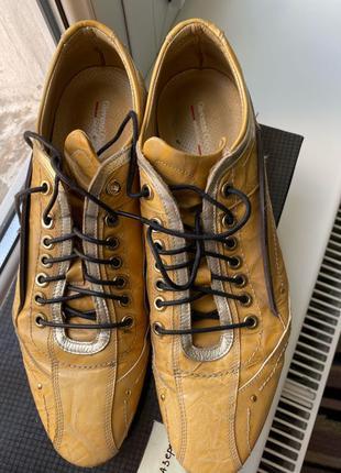 Giovanni Ciccioli оригінал шкіра Італія туфлі мешти туфли літо зо