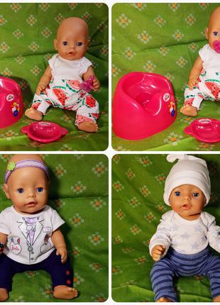 Куклы пупсы беби борн и другие одежда для кукол