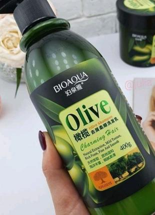 Шампунь c оливковым маслом