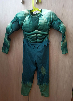 Карнавальный костюм Халк на 3-4 год. Marvel