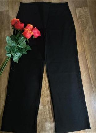 Штаны, большого размера, батал, 58 размер, черные