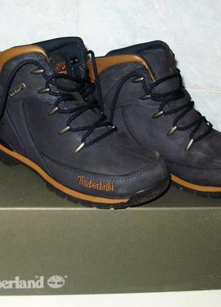 Ботинки деми timberland подростковые р.37