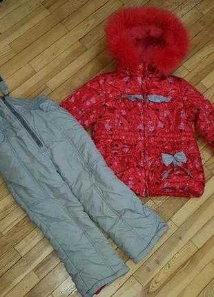 Комбинезон и куртка зима