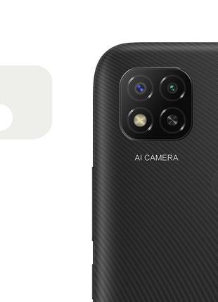 Гибкое защитное стекло 0.18mm на камеру  для Xiaomi Redmi  9C
