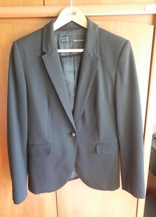 Пиджак из трикотажного полотна zara