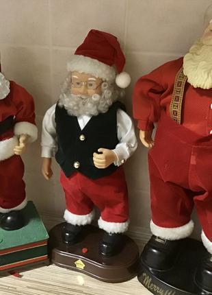 Санта дед дід  мороз прикраси новорічні сніговик