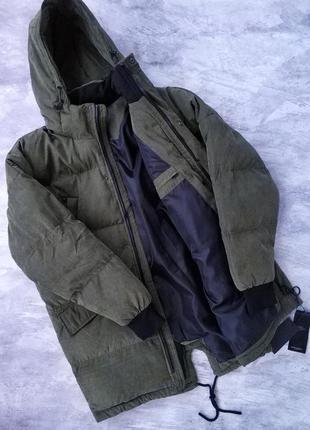 Мужская теплая зимняя парка, куртка, см.замеры в описании,боль...