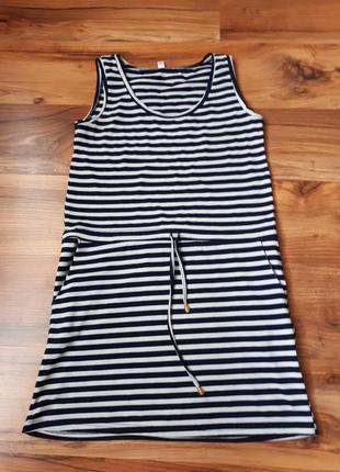 Платье-тельняшка/платье в полоску