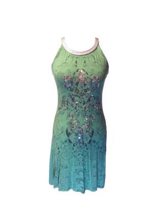 Сукня Dolce&Gabbana, зелений розмір S-M