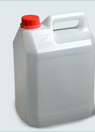 Канистра пластиковая белая 5 л для воды. торг.
