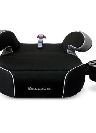 Автокресло бустер Penguin Pad (черный)