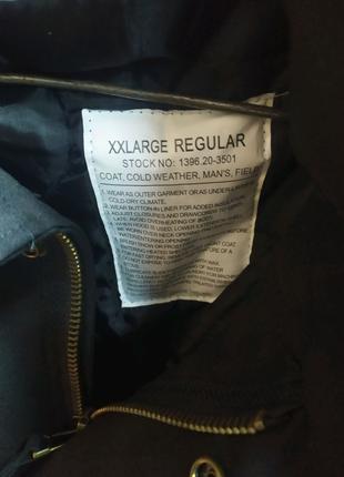 Куртка парка  М-65 черного цвета новая