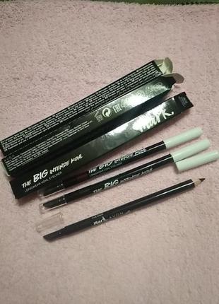 Профессиональный карандаш со спонжем для растушевки mark avon