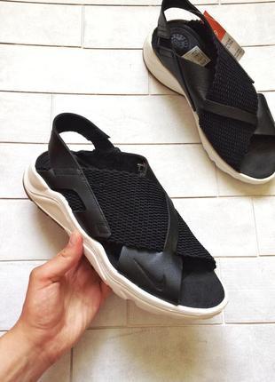 Стильные сандалии, босоножки nike air huarache ultra кожаные н...