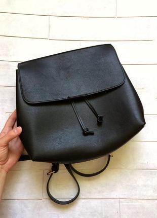 Рюкзак bershka, сумка, портфель бершка из кожзама