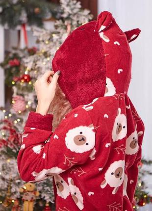 Premium пижама попожама с карманом на попе