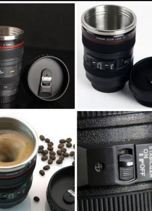 Кружка-термос в виде объектива Canon EF 24-105🔥🔥🔥
