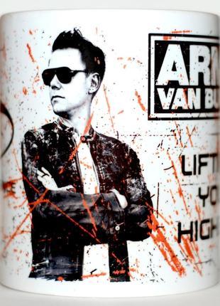Сувенирная чашка  Armin van Buuren ASOT Lifting you hi