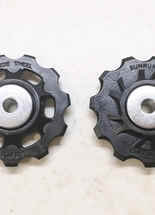 Ремкомплект ролики заднего переключателя перекидки SunRun Shimano