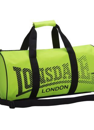 Спортивная сумка Lonsdale Yellow Neon Black Оригинал Лайм неоновы