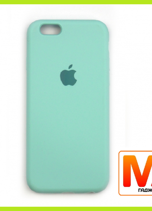 Чехол накладка Silicone Case Full Cover Apple iPhone 6/6S