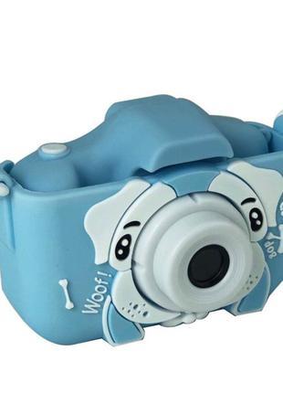 Детский цифровой Фотоаппарат в чехле камера