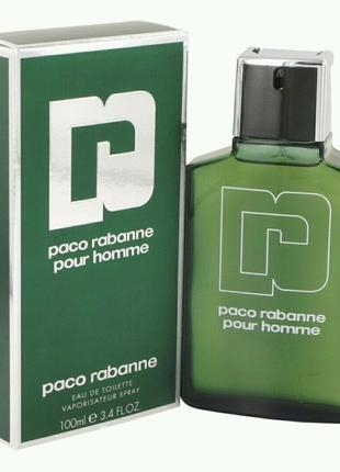 Мужская туалетная вода Paco Rabanne Pour Homme EDT (100 мл )