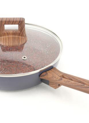Сковорода с гранитным покрытием A-PLUS 22 см